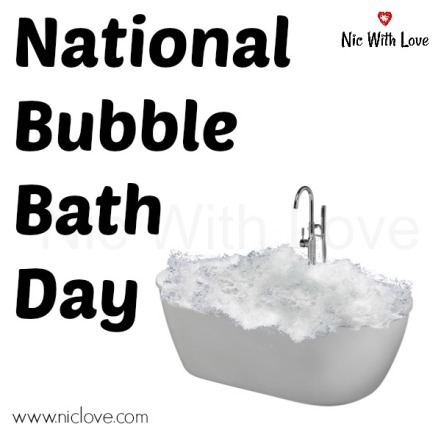 Bubble Bath Day wc