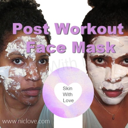 Workout Face Mask Recipe